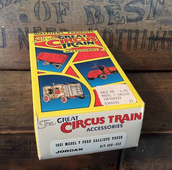 1978 THE CIRCUS MOVES BY RAIL, Parkinson, Fox, Pruett, 1st Ed. HC/DJ, Trains