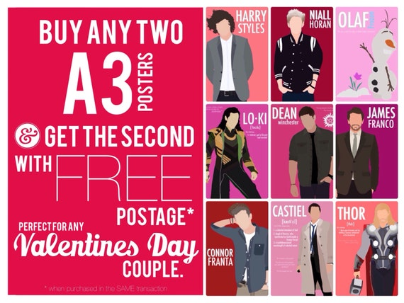 Perfect for Valentines Day Posters