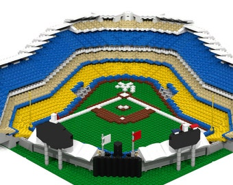 LA Dodger Stadium (2,500+ pieces), Brick Model