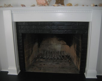 Fireplace Mantel, Surrounding Fireplace Mantel, Custom Mantel, Reclaimed Wood Mantle