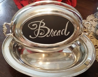 Silver Plated Casserole or Serving Dish with Lid
