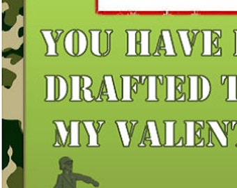 Army Valentine's Day Cards