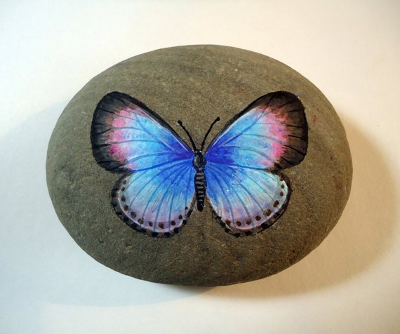 Realistic butterfly paintings - photo#47