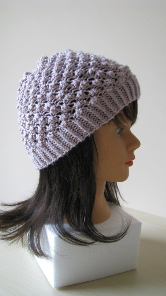 Knitting Pattern Womens Hat : Knitted hat pattern for women Instant Download by ...