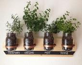 Herb Garden, Hanging Herb Garden, Hanging Planter