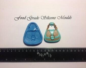 Large Handbag Themed Food Safe Safe Super Flexible Silicone Mould / Mold