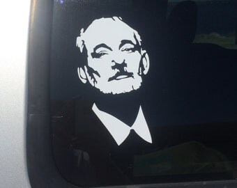 bill murray kcco keep calm and chive on car truck window