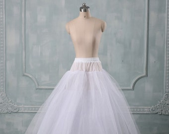 Wedding Dress A Line Petticoat 1 Hoop A By Rosabridal On Etsy