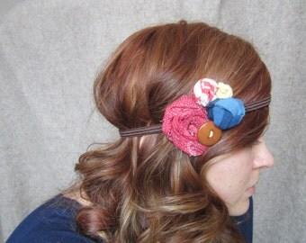 Embellished Elastic Headband