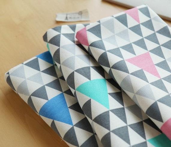 triangle de style scandinave mixte tissu oxford 3 couleurs. Black Bedroom Furniture Sets. Home Design Ideas