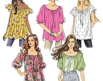 Butterick Sewing Pattern B5357 Misses' Top