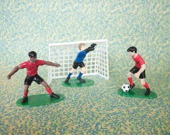 Soccer Cake Topper Set