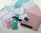 "SALE! Polka Dot Camera ""Special Delivery"" Mail Kit"