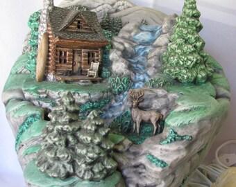 Mountain Cabin Lightable