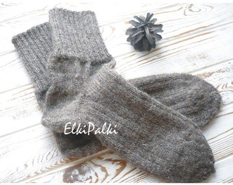 Of wool socks / Носки из овечьей шерсти