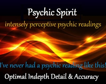PSYchic Reading, 29.95 Clairvoyant PSYchic Reading, Accurate, Detailed,  delivered by email authentic Psychic Spirit brand digital doc