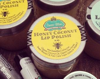 Honey Coconut Lip Polish