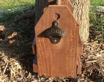 Wooden Beer Carrier