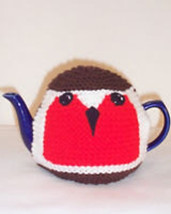 Knitting Pattern For Robin Tea Cosy : Robin Tea Cosy Knitting Pattern by TeaCosyFolk on Etsy