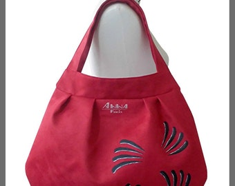 Red bag, Model Amarante