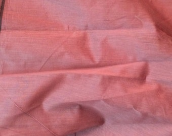 Chanderi cotton Silk fabric by yard