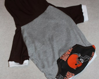 Cleveland Browns Dog Hoodie / Personalization Available!