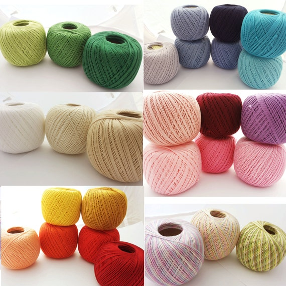 Crochet Cotton Thread Size 10 50g X 225m 3ply