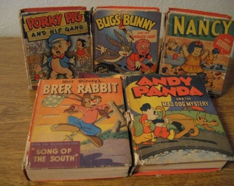 Set of 5 Better Little Books.