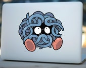Tangela Pokemon decal sticker for MacBook Air, Pro and all other devices! ma190