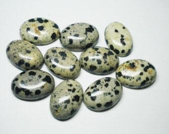 10 Piece 49.70 Ct Unekaite Oval Natural Gemstone