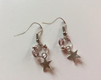 Tiny tiny stars earrings