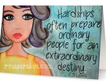 Note Cards, Artist cards, handmade item, original art, A7, 5x7 cards, blank cards, friendship, uplifting