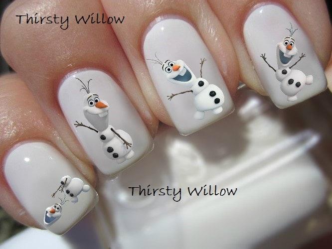 Disney Inspired Frozen Nail Art Tutorial Timelapse: Frozen inspired ...