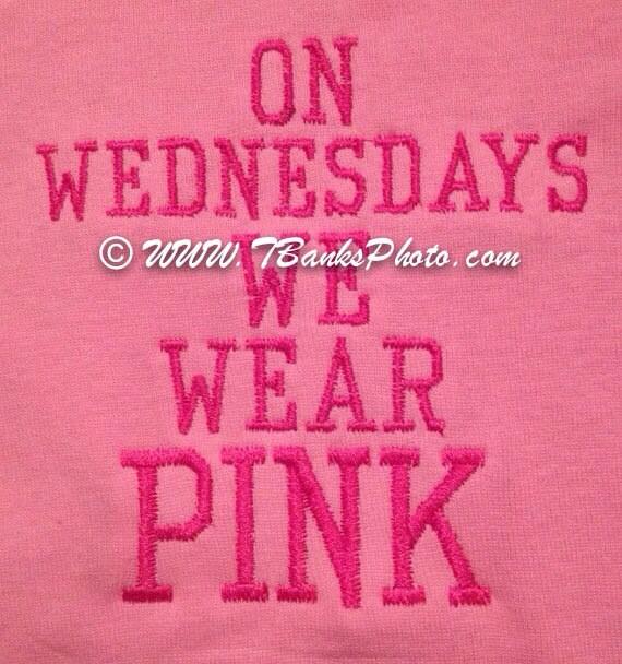 Mean Girls Quotes On Wednesdays We Wear Pink: Mean Girls Quote On Wednesdays We Wear Pink Baby Girl Onesie