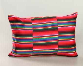 Tibetan apron pillow  - Sera sunrise design