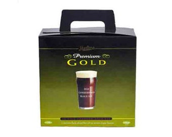 Muntons Premium Gold Old Conkerwood Black Ale home brew kit