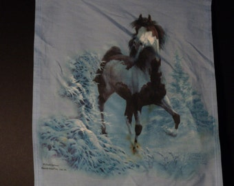 this is a PAINT horse garden flag