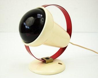 Vintage Charlotte Perriand Infraphil lamp light for Philips, 1950's Dutch design, retro, Mid Century