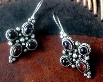 Balinese Sterling Silver Earrings