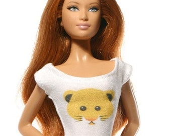 Handmade clothes for Barbie (T-shirt): Hamster