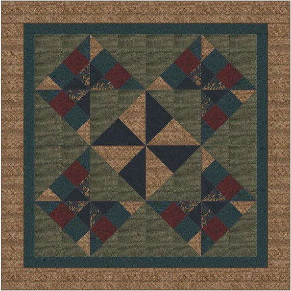 Quilt Patterns With Y Seams : Quilt Pattern FAST AND EASY Great by QuiltPatternsDesigns