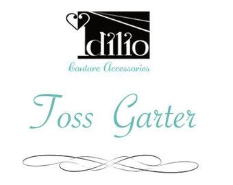 Toss garter / Throw away garter to match your Idilio keepsake garter
