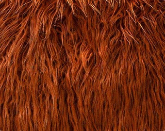 Sample Mongolian Rust Faux Fur Backdrop Photography Prop - Photo Prop- Newborn Nest