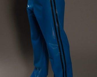 Men's Latex Track Pants ~ Syren Latex Fetish Fashion