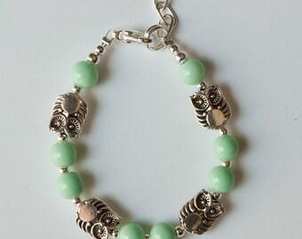 Lovely Owls Bracelet