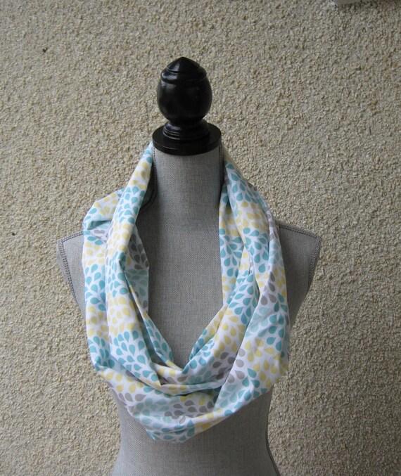 fabric scarf infinity scarf scarf eternity scarf loop