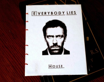 House MD Everybody Lies Journal Notebook