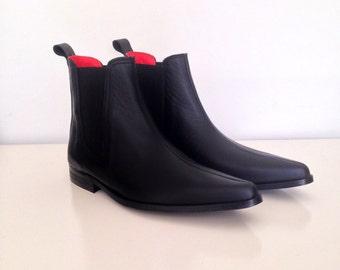 Vegan Chelsea Winklepicker Boots
