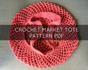 Crochet Mesh Bag Pattern : ... Pattern, Crochet Mesh Bag, Reusable Bag Pattern, Crochet Bag Pattern