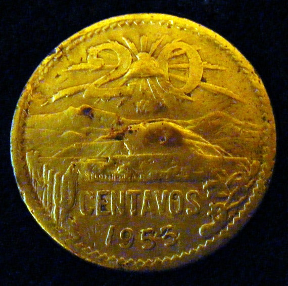 1953 20 CENTAVOS . . Great Investment . .